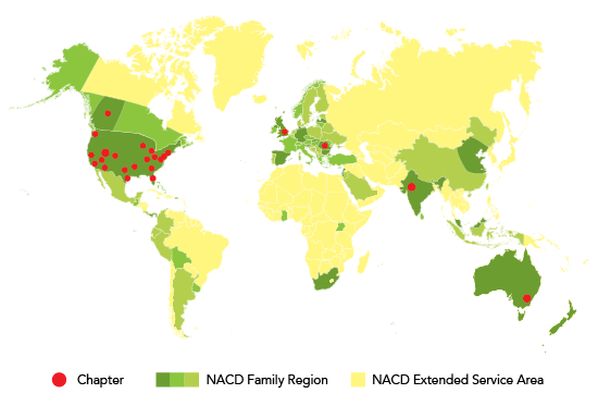 NACD International Chapters & Locations