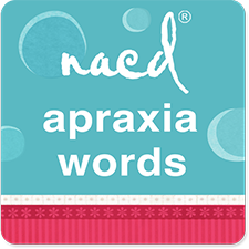 NACD Speech Therapy for Apraxia Words