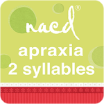 NACD Speech Therapy for Apraxia 2 Syllables App